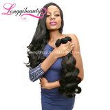 Человеческие волосы Remy объемной волны хорошей девственницы рынка дешевой бразильские