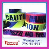 Ruban d'avertissement de PVC, ruban de sol en PVC Ruban adhésif en PVC Différentes tailles disponibles