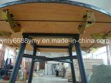Meubles pliables supérieurs de Restaurnt de Tableau de banquet de PVC de jambe en acier