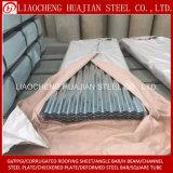 Piatto ondulato d'acciaio galvanizzato per tetto