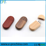 OEM de madera USB Flash Drive, USB reciclado de madera 1GB-32GB