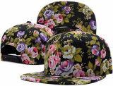Snapback 6 панелей напечатанный бейсбольной кепкой покрывает крышку Hiphop