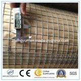 Filet à mailles soudé galvanisé par construction de frontière de sécurité de fil