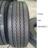 385/65r22.5 ECE aprobó el neumático del acoplado del carro con la escritura de la etiqueta de la UE (385/55R19.5 385/55R22.5 425/65R22.5)