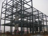 Estrutura de aço leve multi-andares Estrutura de oficina de alimentos de construção (KXD-SSW49)