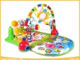 Качество и пинок & игра безопасности циновка игры младенца игрушек гимнастики рояля с картиной 4 для младенца