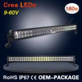 180W gebogen van Weg 14400lm LEIDENE van de Straal Lichte Staaf met CREE LEDs