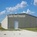 El almacenaje galvanizado de la estructura de acero vertió de surtidores profesionales
