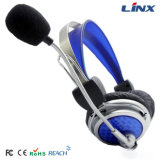 PC Headset del USB professionale di Cheap Free Sample Earphones Security con il Mic