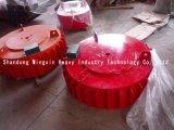 Separador magnético refrigerando do equipamento de mineração do ouro do auto seco super de Rcdb-T eletro