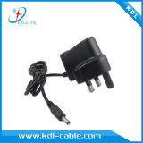 UE d'adaptateur d'alimentation de C.C à C.A. nous chargeur micro BRITANNIQUE de la fiche 5V 1.5A USB