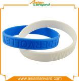 Wristband promozionale del silicone di disegno del cliente
