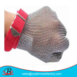 Cortar los guantes de la seguridad del acero inoxidable 304L de la resistencia