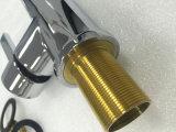 Faucet chapeado da cozinha dos mercadorias cromo sanitário (026-01)