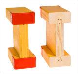 Faisceau impeccable de bois de construction en bois H20