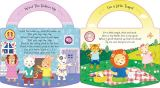 Livre de forme de panneau de module son pour des enfants