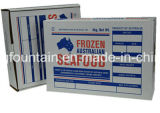 Коробка картона США Kraft бумажная для продуктов моря Forzen