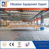 Dazhang 2017 a enfoncé la presse de filtre à plaque pour le traitement d'eaux d'égout de Métal-Traitement