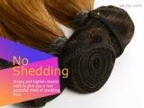 Der Brown-zwei gerades brasilianisches Jungfrau-Haar Ton-Farben-Ot1b-30#