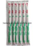 Baguettes en bambou enveloppées par OPP en gros de papier