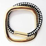 Pulsera determinada del estiramiento del collar de la nueva del item joyería de madera de la manera