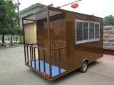 Preço de confiança, carro móvel da entrega do alimento dos carros dos Hamburger na venda