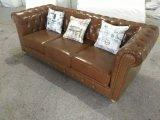 Sofà BRITANNICO, sofà di cuoio, sofà dell'ingresso (6806)