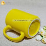 tasse de café 16oz colorée avec le traitement