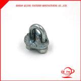 Clip de cuerda de alambre de las abrazaderas del cable del estruendo 741 del acero inoxidable