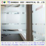 Film de fenêtre autocollant en PVC transparent avec autocollant élevé pour décoration