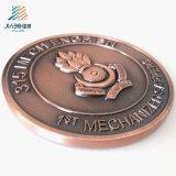 Поставьте монетку металла возможности логоса таможни 70mm воинскую для подарка сувенира