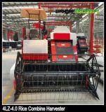 De turbo Dieselmotor 100HP Maaidorser voor Rijst en Tarwe