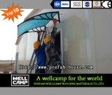 Casa prefabricada moderna del panel de emparedado de la prueba de fuego de Omán para la venta