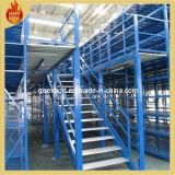Estante del almacén de almacenamiento multinivel Entresuelo