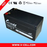 12vc1.3 Lead Acid Sealed Rechargeable Battery 12V1.3ah