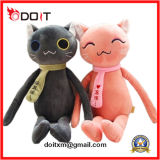 Pink Cat Peluche Toy Plush Cat Toy Cat Soft Toy