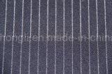 Tela rayada teñida hilado de T/R, 63%Polyester 33%Rayon 4%Spandex, 245GSM