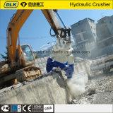 Cisaillement tournant hydraulique de mitraille de machine de découpage d'excavatrice pour l'excavatrice de 20 tonnes