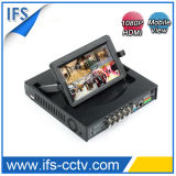 4 canales DVR HD 1080P LCD flexible (ISR-LCD304)