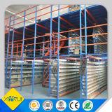 Estantes de acero de múltiples capas del entresuelo del almacén