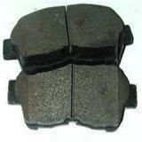 para la zapata de freno semimetálica de las piezas de automóvil de Toyota 04465-42140