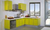 Новая акриловая мебель кухни самомоднейшей конструкции (zv-026)