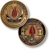 Monedas del recuerdo, monedas de encargo, 2.o diseño, aleación del cinc, niquelado antiguo con el esmalte suave