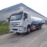 De de Zware Sproeier van Sinotruk HOWO 6X4/Vrachtwagen van de Tanker van het Water