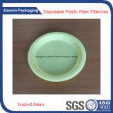 Цветастая устранимая пластмасса Dishes упаковывать плиты