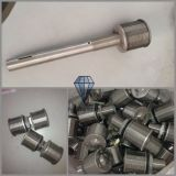 Aço inoxidável 304/316 Wire Wrapped Screen Nozzle / Water Spray Nozzle for Water Treatment