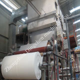 Reciclaje de la línea de la fabricación de papel para el papel higiénico, papel del cuarto de baño