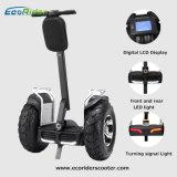 2016 Ecorider elektrischer Roller mit Pedalen, Selbstbalancierender Roller, zwei Radelektrischer Unicycle