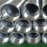 El alambre de múltiples capas del acero inoxidable de la fabricación envolvió la pantalla basada tubo