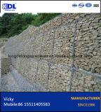 Коробка Gabion/шестиугольные плетение провода/корзина Gabion/каменная клетка/каменная сетка